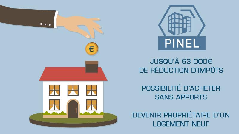 Loi pinel comprendre la d fiscalisation immobili re for Appartement neuf bordeaux loi pinel