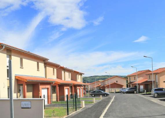 Maisons - Chasse-sur-Rhône