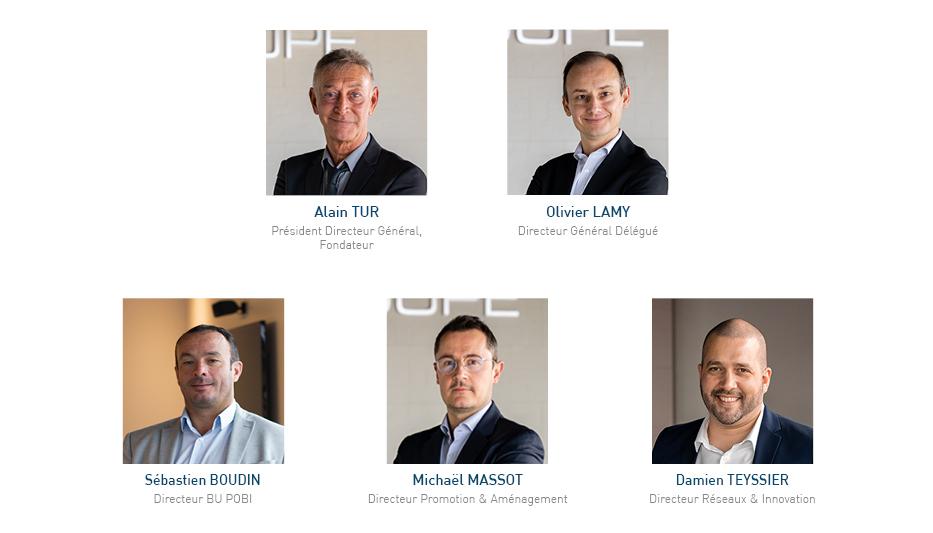 Le Comité Exécutif AST Groupe